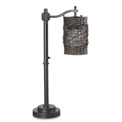 Kenroy Home Brent Indoor/Outdoor Oil-Rubbed Bronze Table Lamp