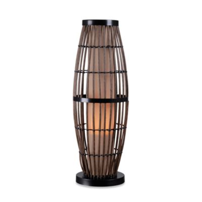 Kenroy Home Biscayne Indoor/Outdoor Rattan Table Lamp