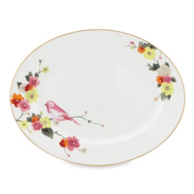 kate spade new york Waverly Pond 13-Inch Oval Platter