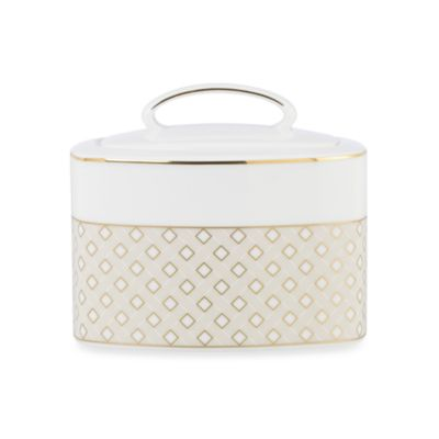 kate spade new york Waverly Pond 3 3/4-Inch Sugar Bowl With Lid