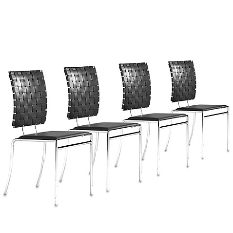 Zuo® Modern Criss Cross Chair (Set of 4)