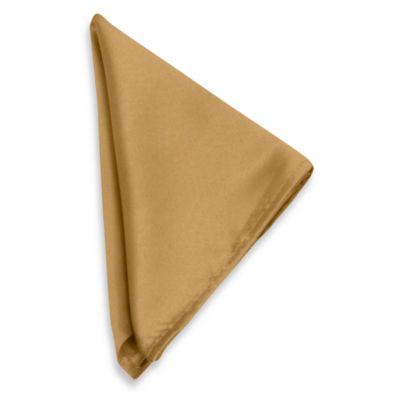 Goldenrod Polyester Napkin