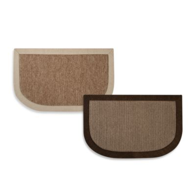 Microdry® Chenille Linen 20-Inch x 32-Inch Kitchen Mat in Chocolate