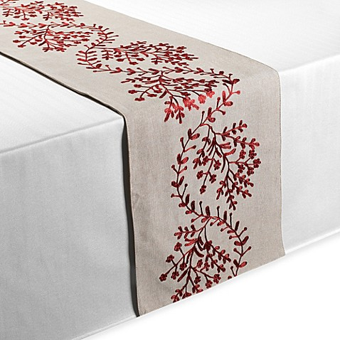 Salerno 100 Cotton Table Runner Bed Bath Amp Beyond