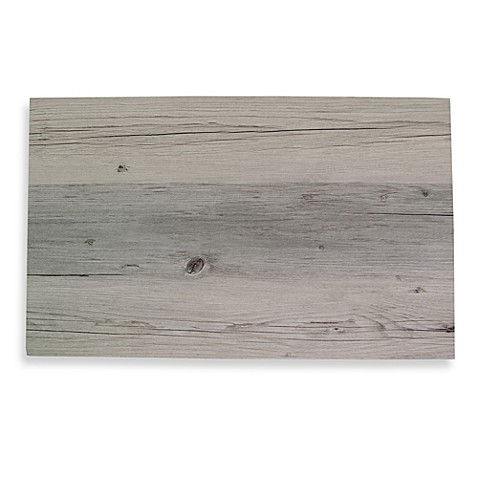 Driftwood Faux Wood Hard Placemat