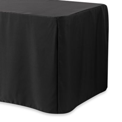4-Foot Table Cover in Black