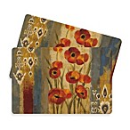 Flora 2-Pack Cork Placemats by Silvia Vasilleva
