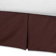 Real Simple® Retreat Bed Skirt in Chocolate