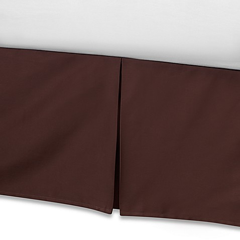 Real Simple® Retreat Full Bed Skirt in Chocolate