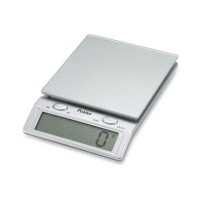 Polder Digital Glass Top Kitchen Scale