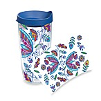 Tervis® Bohemian Flower Wrap 24-Ounce Tumbler with Blue Lid