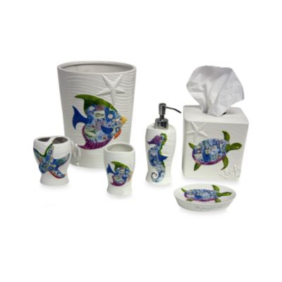 Sea Allure Bath Waste Basket