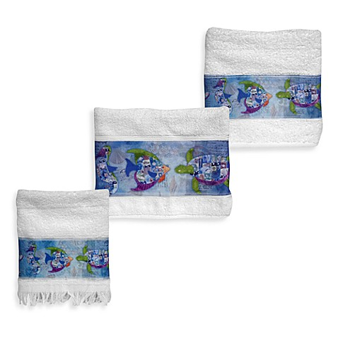 Sea Allure Fingertip Towel