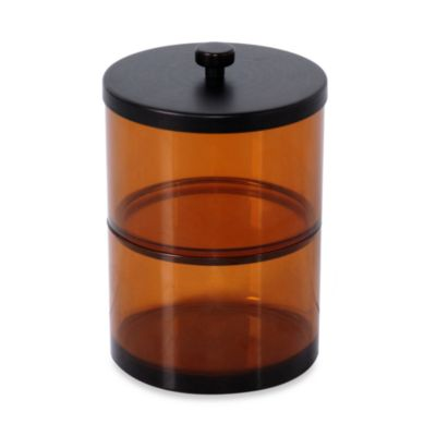 Amber Double Bath Jar