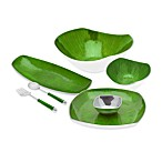 Simplydesignz Bodoni Serveware Collection in Apple Green