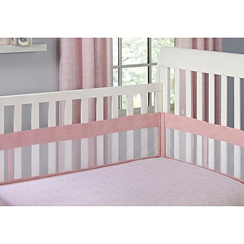 The Willow by Wendy Bellisimo™ Secure-Me Mesh Crib Liner