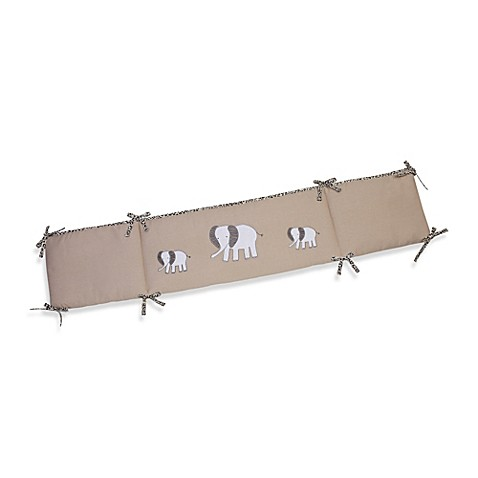 The Sweet Safari by Wendy Bellisimo™ Secure-Me Crib Bumper