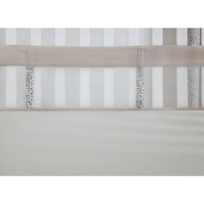The Sweet Safari by Wendy Bellisimo™ Secure-Me Mesh Crib Liner