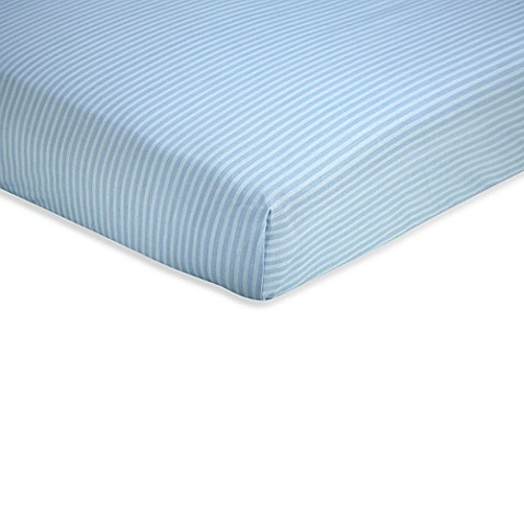 Sweet Safari by Wendy Bellisimo™ Fitted Crib Sheet in Blue