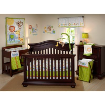 NoJo® Congo Bongo 4-Piece Crib Bedding Set