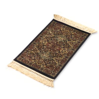 Verona 2-Foot 2-Inch x 6-Foot 11-Inch Rug in Black
