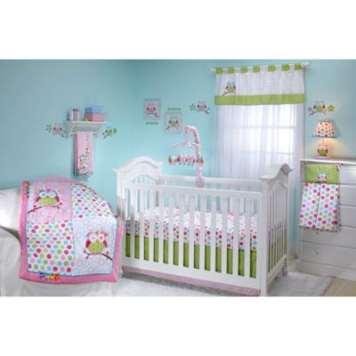 Taggies™ Owl 4-Piece Crib Bedding Set