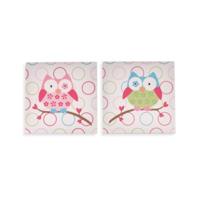 Taggies™ 2-Pack Owl Wall Art