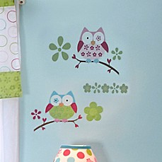 Taggies™ Owl Crib Wall Decals