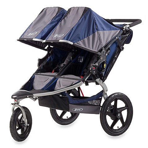 BOB® Revolution SE Duallie Stroller in Navy