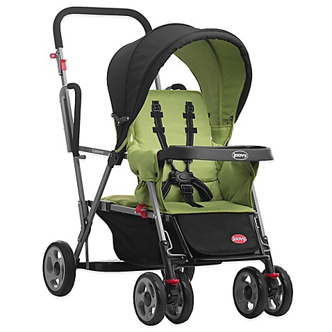 Joovy® Caboose Stand-On Double Stroller in Appletree