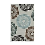 Durazno Indoor/Outdoor Pussywillow Rug in Grey