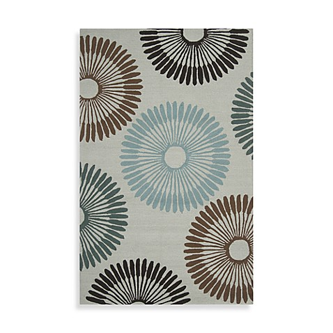 Durazno 5-Foot x 8-Foot Indoor/Outdoor Rug in Grey Multi