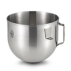 KitchenAid® 5-Quart Brushed Stainless Steel Bowl with Handle