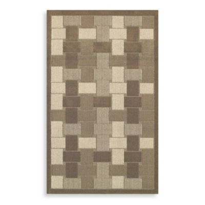 Ali's Way Earth Pearl 5-Foot x 8-Foot Tufted Rug