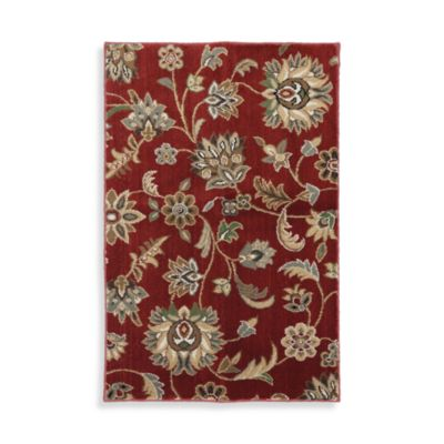 Mohawk Home Goldwin Area Rug in Rust