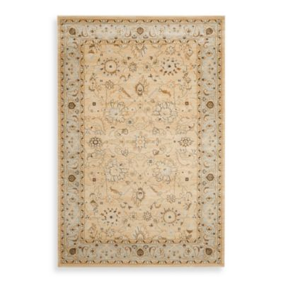 Safavieh Florenteen-Portia 8-Foot x 11-Foot Floor Rug in Ivory/Grey