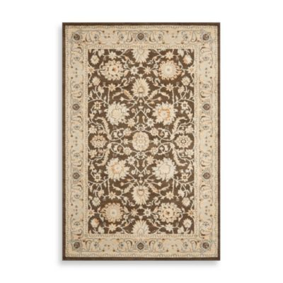 Safavieh Florenteen-Portia 8-Foot x 11-Foot Floor Rug in Brown/Ivory