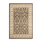 Safavieh Florenteen-Ayanna Floor Rug in Brown/Ivory