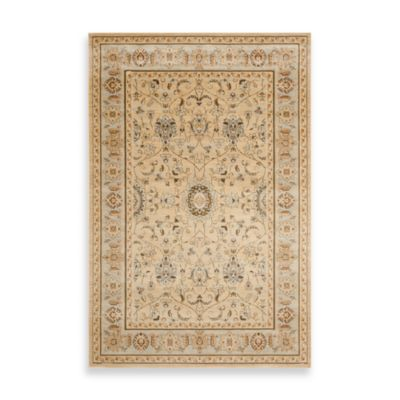 Florenteen-Forsythia Floor Rug in Ivory/Grey