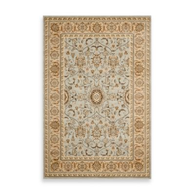 Safavieh Florenteen-Forsythia 5-Foot 3-Inch x 7-Foot 6-Inch Floor Rug in Grey/Ivory