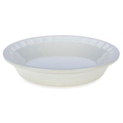 Le Creuset® Heritage 9-Inch Stoneware Pie Dish in White