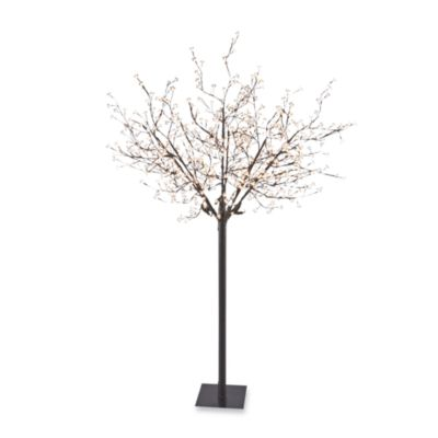 Sterling at Home Twinkle Blossom Metal Tree