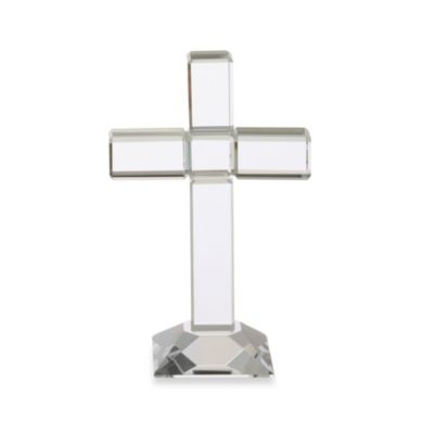 Oleg Cassini 7-Inch Glory Crystal Cross