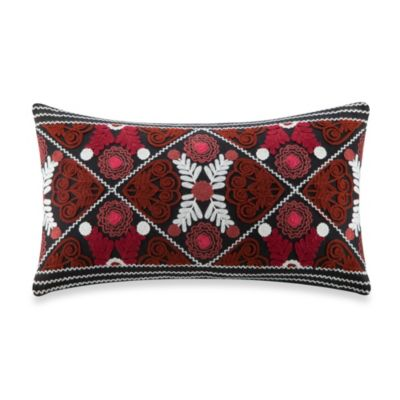 Artology Kalam 12-Inch x 12-Inch Pillow in Black