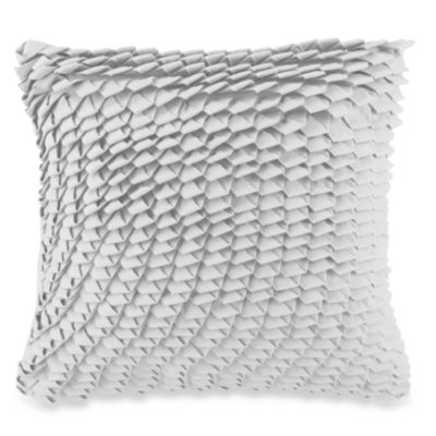 DKNY® Highline Square Toss Pillow in Grey