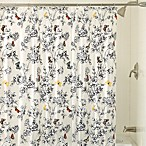 Flora 72-Inch x 72-Inch Shower Curtain