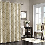 Bombay™ Garrison 72-Inch x 72-Inch Shower Curtain in Taupe