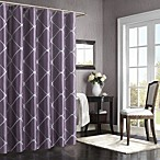 Bombay® Garrison 72-Inch x 72-Inch Shower Curtain in Purple