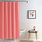 Linear Coral Real Simple®  70-Inch x 72-Inch Shower Curtain