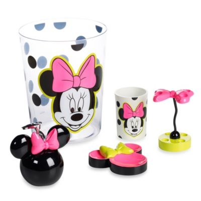 Minnie Brites Bath Waste Basket